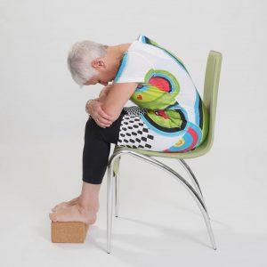 Yoga adapté sur chaise