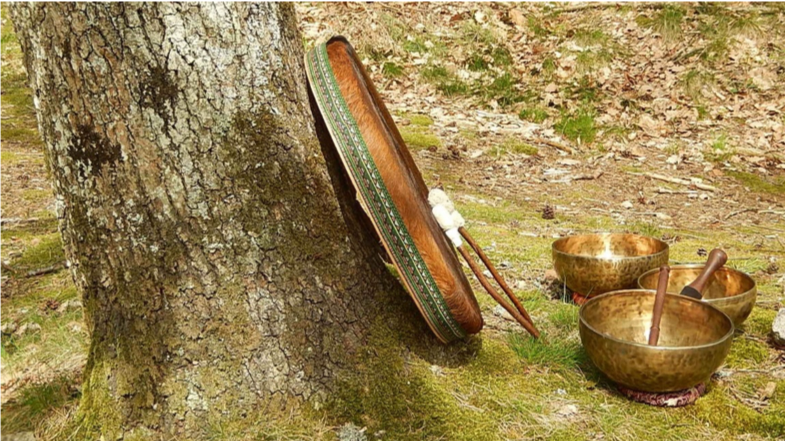 objets tibetain en nature